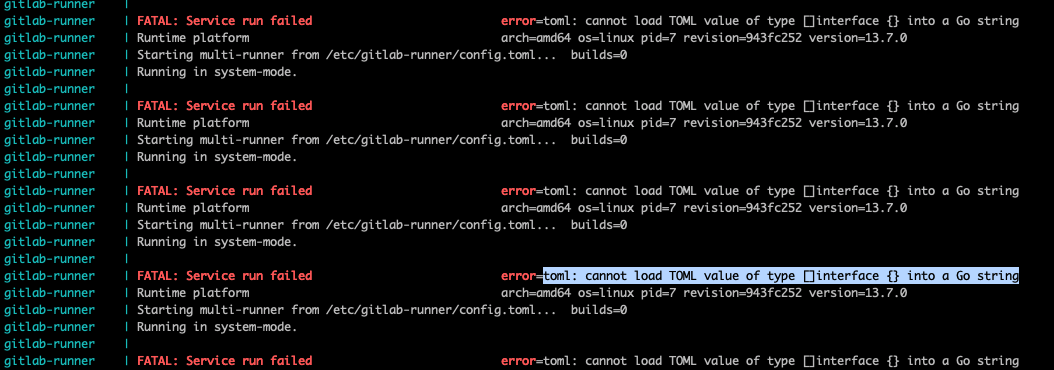 gitlab-runner-load-toml-value-failed